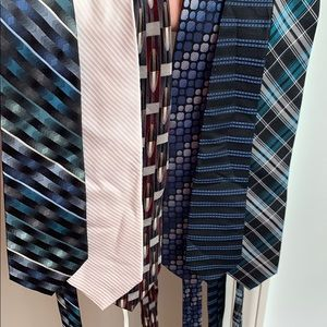 6 ties! Some new with tags